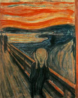 The Scream - 1893 by: Edvard Munch